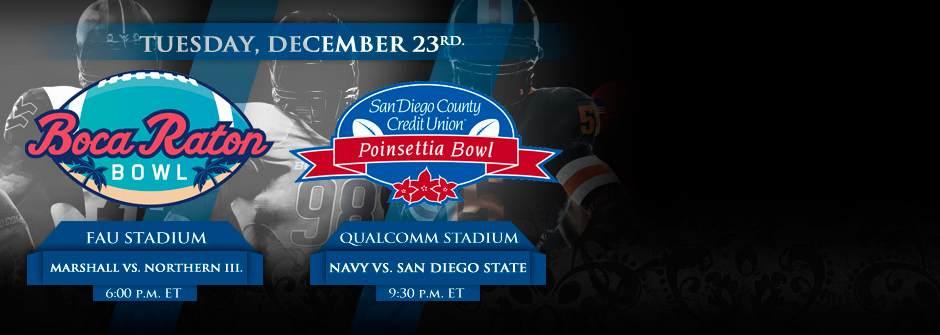 College Bowls Wednesday December 23