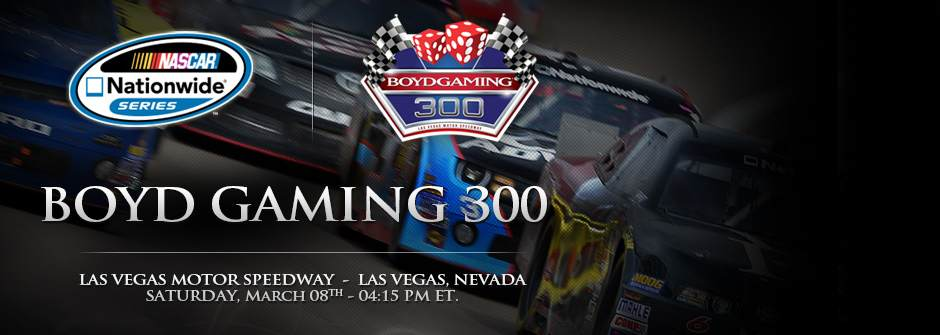 NASCAR, Nationwide Series, Boyd Gaming 300