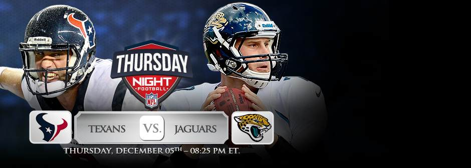 Thursday Night Football, Texas vs. Jacksonville