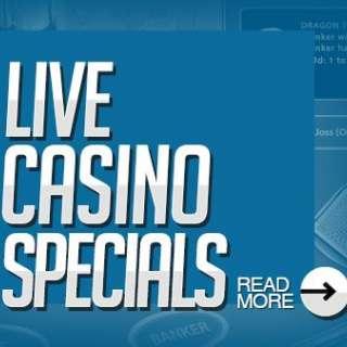 Live Casino Specials