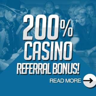 Casino Referral Bonus