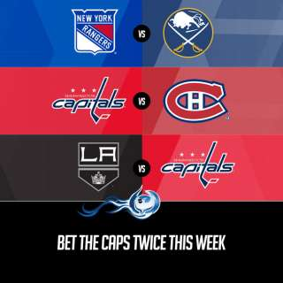 Bet The Caps Twice This Week