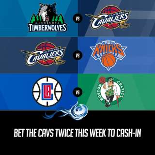Bet The Cavs Twice This Week To Cash-In