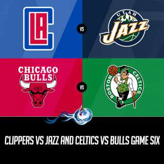 Clippers vs Jazz and Celtics vs Bulls Game Six