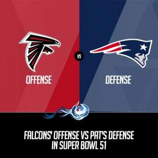 Falcons' Offense Vs Pat's Defense In Super Bowl 51