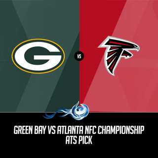 Green Bay Vs Atlanta NFC Championship ATS Pick