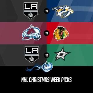 NHL Christmas Week Picks