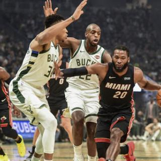 bucks vs heat 3/2/2020