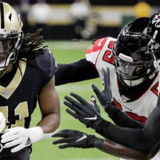 Saints at Falcons 2019