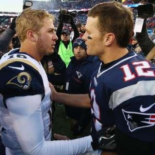 Patriots vs Rams Super Bowl 53