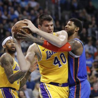 Thunder vs. Lakers 2019