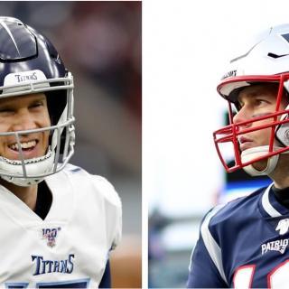 2019 AFC Wild Card Titans vs. Patriots
