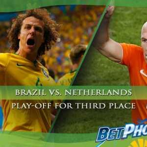 Bet on Brazil vs. Netherlands