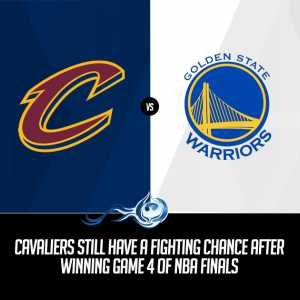 Cavaliers at Warriors Game 5 NBA Finals