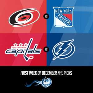 First Week Of December NHL Picks