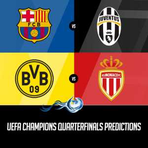 UEFA Champions Quarterfinals Predictions