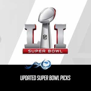 Updated Super Bowl Picks