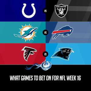 What Games To Bet On For NFL Week 16