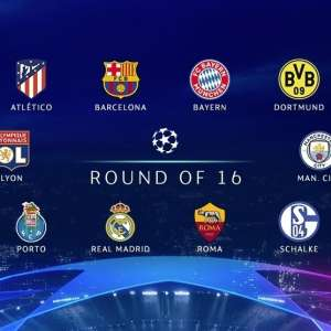 2019 Champions League Round of 16 Betting