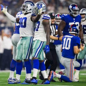 Cowboys vs. Giants 2019
