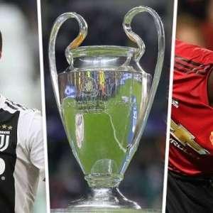 2018 UEFA Champions League: Manchester United vs. Juventus