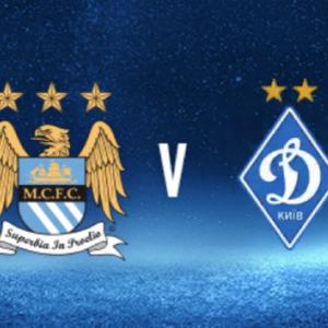 Manchester City vs Dynamo Kyiv