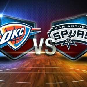 Oklahoma City Thunder vs San Antonio Spurs