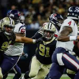 Texans vs. Saints 2019