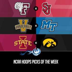 NCAA Hoops Picks of the Week