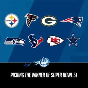 Picking The Winner Of Super Bowl 51
