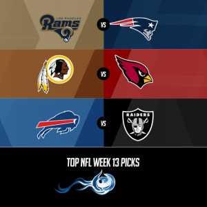 Top NFL Week 13 Picks