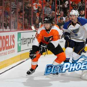 Flyers vs Blues NHL